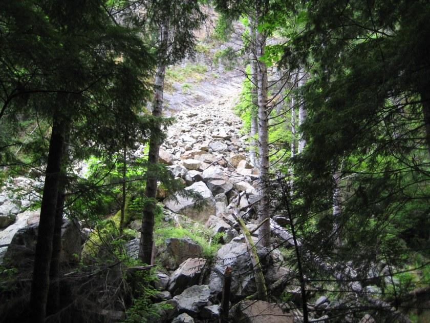 rock-slide